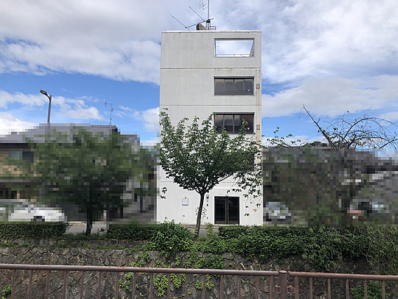5-Story Building on Higashi-Horikawa st., near Kyoto Imperial Palace, for Sale in Yon-chome, Kamigyo Ward