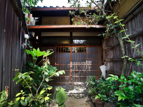 Renovated Machiya near Kyoto Imperial Palace, for GuestHouse, for Sale in Kamigyo Ward