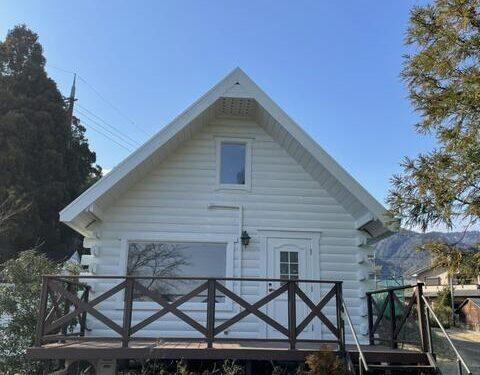 Renovated Vacation House on Biwa Lake Beach, for Sale in Daimotsu, Otsu City, Shiga Pref.