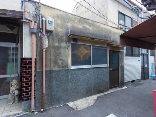 One-Story House in Higashikujo Ukabe-cho Minami Ward, Removed  and Vacant Condition, for Sale in Kyoto