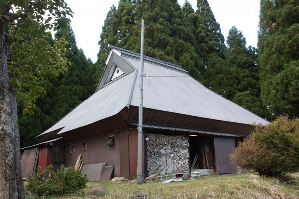 Old House in Countryside, in Takashima Kutsuki in Takashima City, Shiga Prefecture