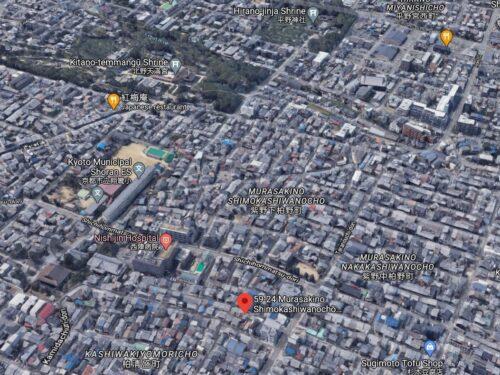 Used House in Murasakino, in Nishijin Area, for Sale in Murasakino Shimokashiwano-cho, Kita Ward