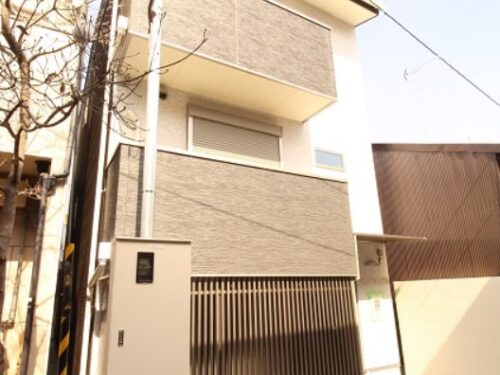 3-Stories Building for Leasing, 3 Units of 1BR, for Sale in Kita Ward, Kyoto
