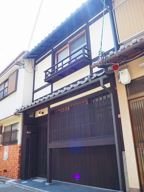 360° View of Nishiitsutsuji Higashi-cho Renovated Machiya House, for Rent in Kamigyo, near Senbon Imadegawa st.