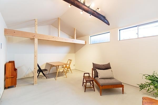 Price Changed: Nishinokyo Shokuji-cho House, Renovated House with Loft, 1DK Layout, near Nijo Castle., for Sale in Kyoto