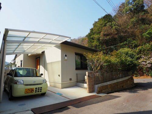 Newly Built House in Otani-cho, Shiga, with Car Garage, locating btw Kyoto and Lake Biwa