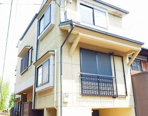 House for Family, 4BRs House in Ukyo next to Rits Uni., with Car Garage, for Rent in Ukyo Ward