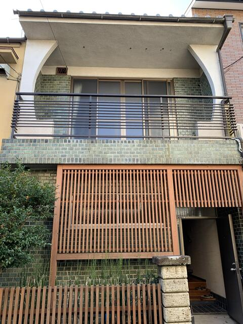 Used House in Shichiku Ushiwaka-cho, 3BRs with Garden, for Sale in Kita Ward