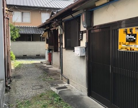 Two Storys Old House in Sakyo, near Kyoto University, for Sale in Kyoto