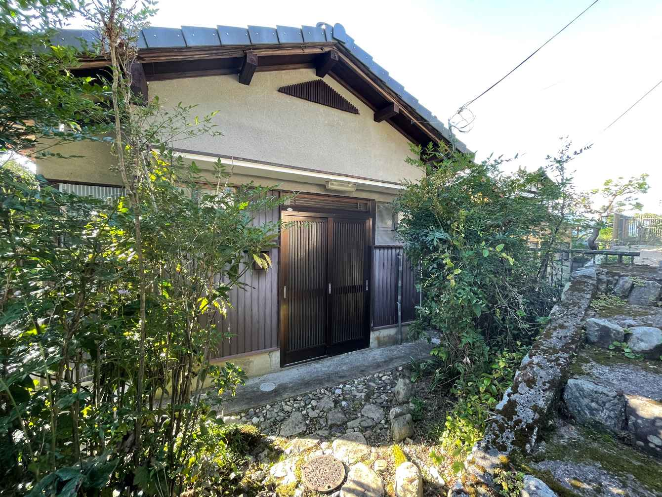 House in Yase, Ohara Onagase-cho, with Kitchen Garden, for Sale in Sakyo Ward