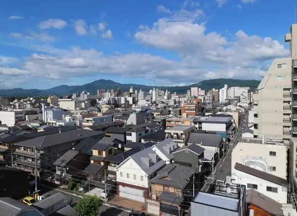 Small Vacant Apartment on Top Floor, for Vacation Home in Kyoto, Detom-1 for Sale in Nakagyo Ward