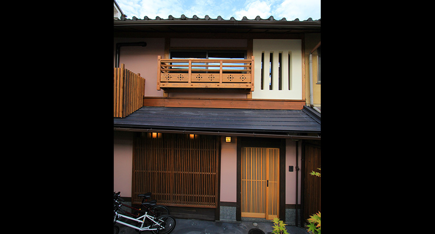 Renovated Machiya Guesthouse, for Sale near Kamo River in Kyoto