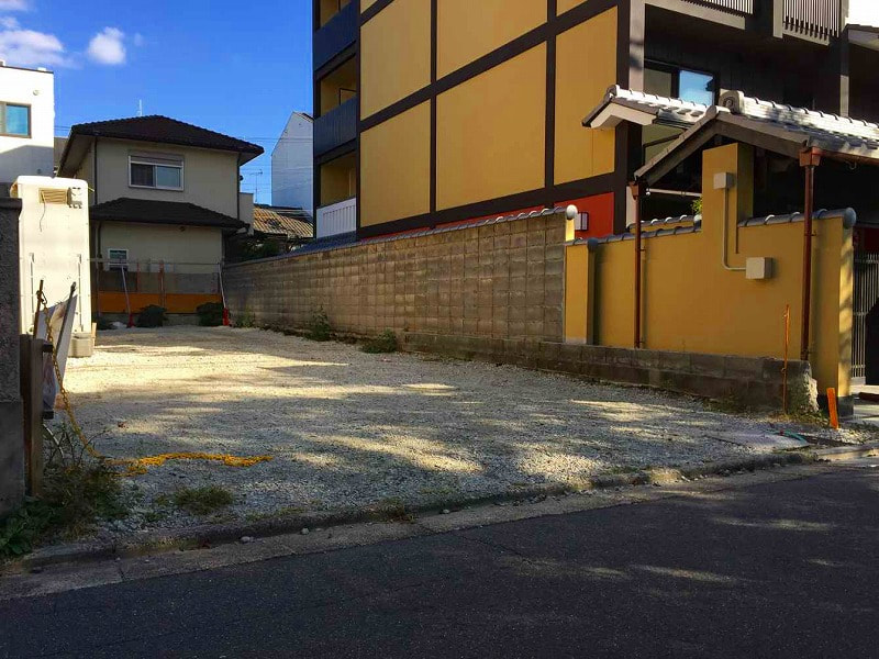 Price Changed: Juuzenji Vacant Lot, Land at front of Takase river for Sale in Shimogyo, Kyoto