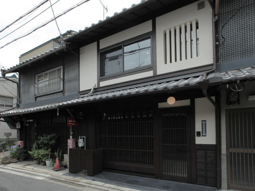 Renovated Kyo-Machiya building in MEIJI Era, near Imperial Palace, for Sale in Kamigyo Ward