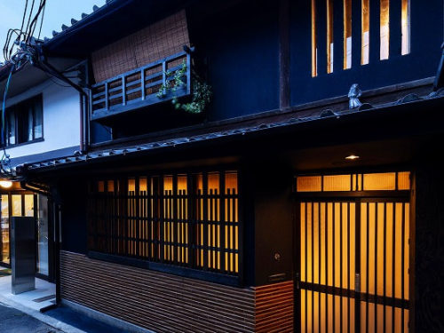 Renovated Machiya building in 1902, for Sale near Nijo Castle