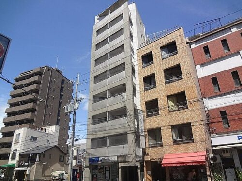 For Investment, 9-Stories Block of Apartment near Imadegawa sta., for Sale in Kamigyo Ward