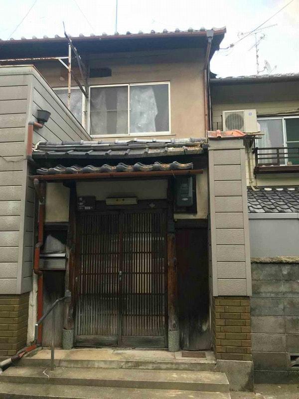 Machiya House for Sale near Myoshinji temple, in Kita ward, Kyoto