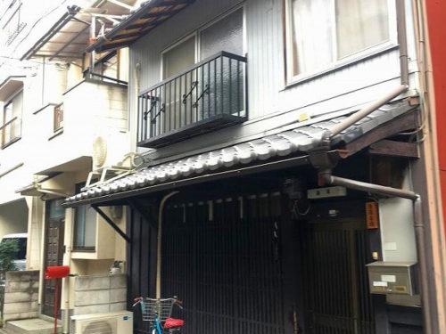 Machiya in Kamishichiken Area, House with Nishijin Factory, for Sale in Kamigyo Ward